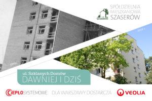 <strong>Spółdzielnia Mieszkaniowa &#8222;Szaserów&#8221; dawniej i dziś</strong>